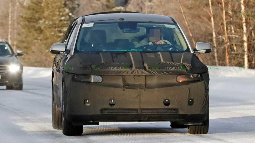 Hyundai 45 EV Production Version First Spy Photos