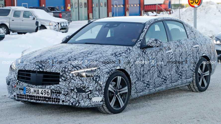 La nouvelle Mercedes-Benz Classe C se montre un peu plus