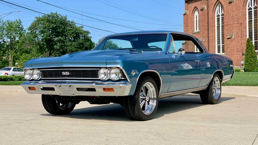 Drop The Hammer In This Built 1966 Chevrolet Malibu SS Clone