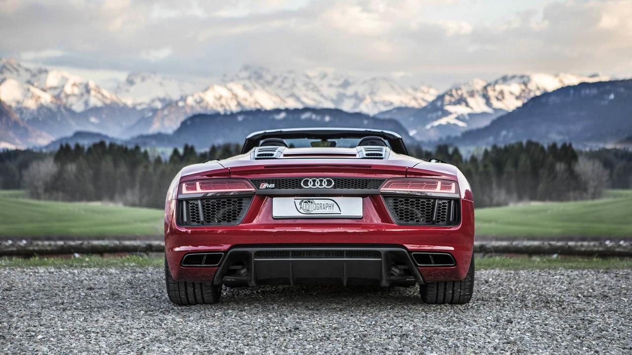 Audi R Spyder V RWS And Audi R Spyder V GT S By ABT - Audi r8 2018