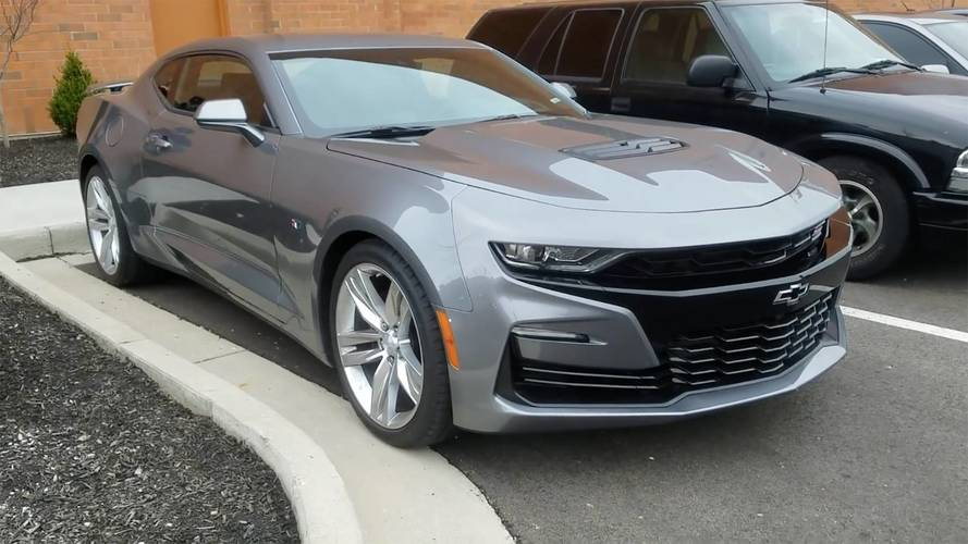 5th Gen Camaro Zl1 >> 2019 Chevy Camaro SS Gets The Walkaround Treatment