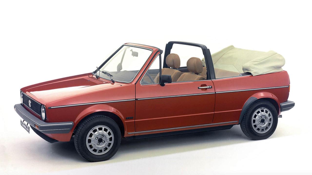 """VW Golf I Cabrio: """"Erdbeerkörbchen"""""""