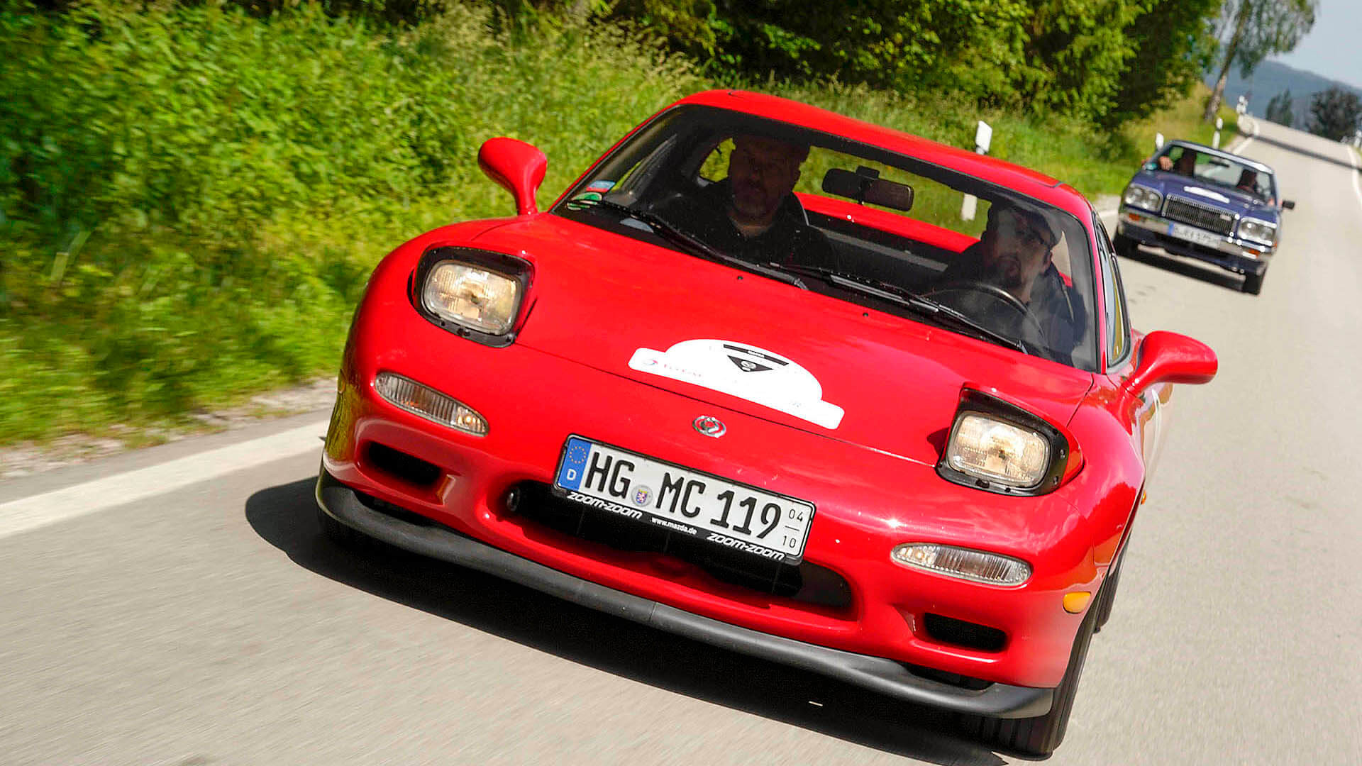 We Drove A Pristine Fd Rx 7 From Mazdas European Collection 1992 Mazda Rx7 Engine