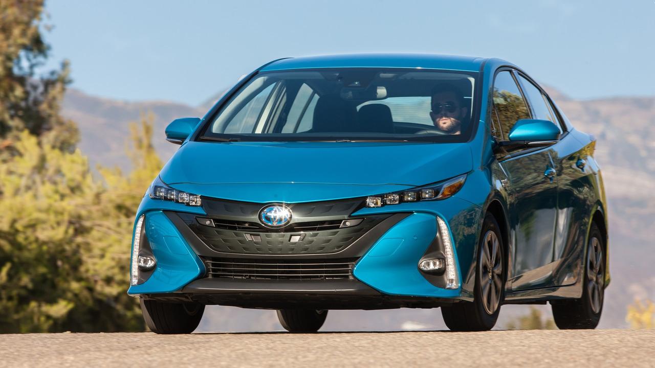 8. Hybrid/Alt-Energy Car: Toyota Prius Prime