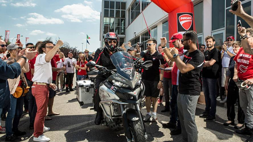 Ducati Birthday Celebrations Continue With World Tour