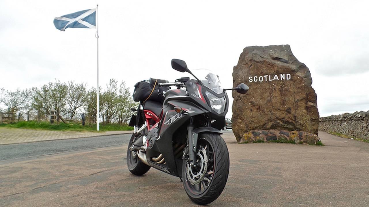 Touring Sport: Scotland on a Honda CBR650F