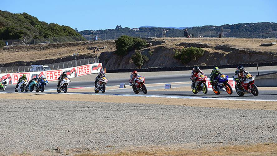 Club Racers Pop Pro Racing Cherry at Laguna Seca