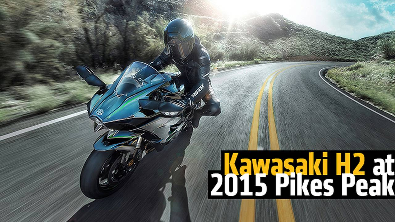 Kawasaki H2 at 2015 Pikes Peak - We Have the Inside Scoop