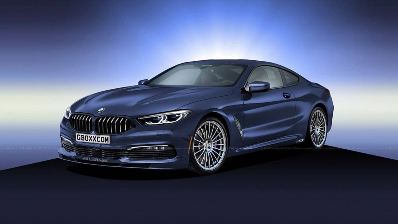 Renderings That Imagine A Fantastic Future For The BMW Series - Bmw b8 alpina