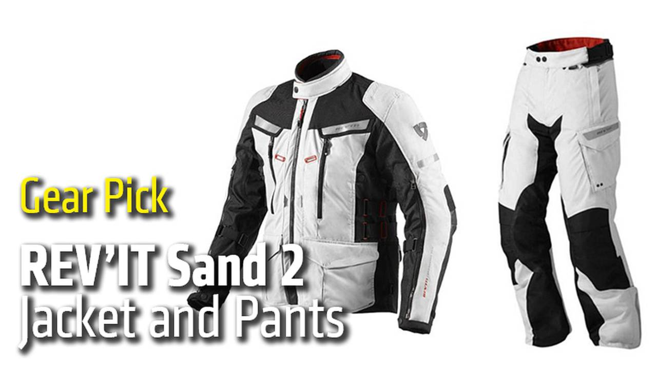 Gear Pick: REV'IT Sand 2 Jacket and Pants