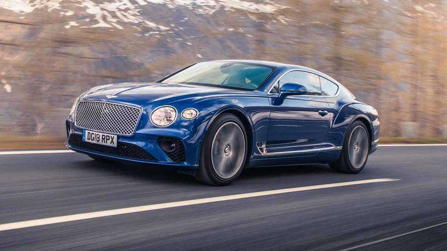 Nuova Bentley Continental GT
