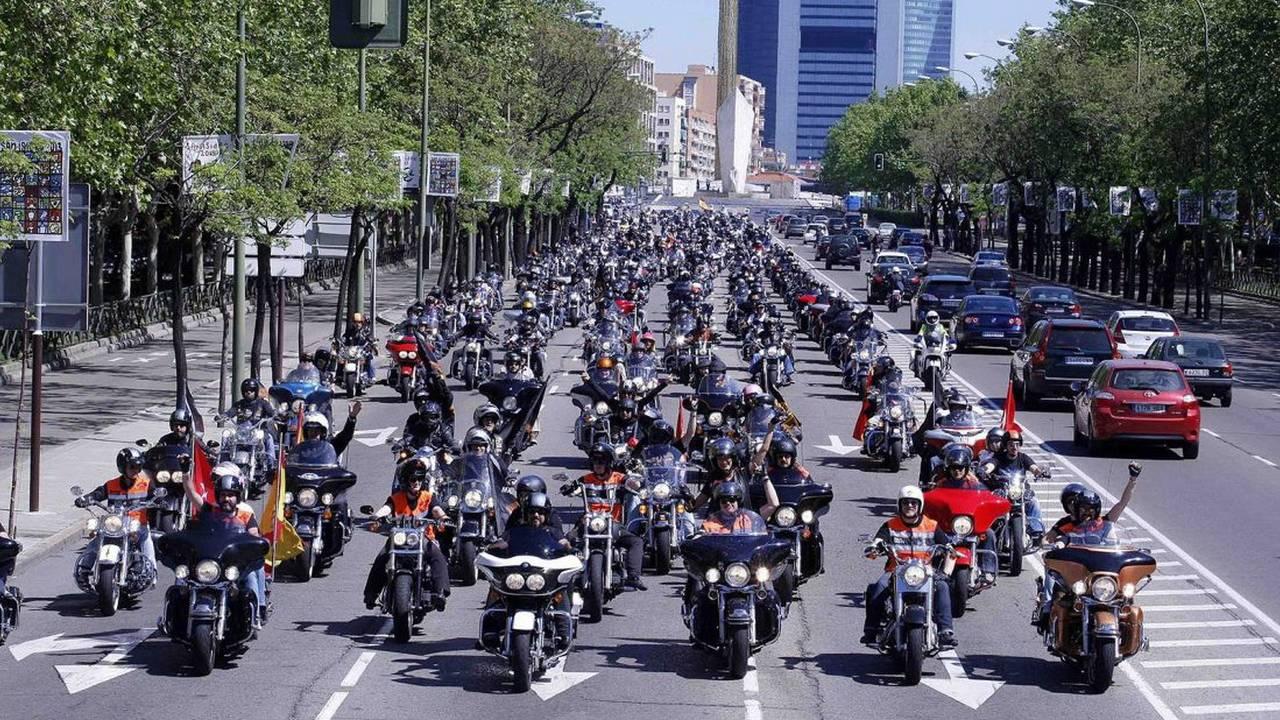Desfile Harley-Davidson Madrid KM0