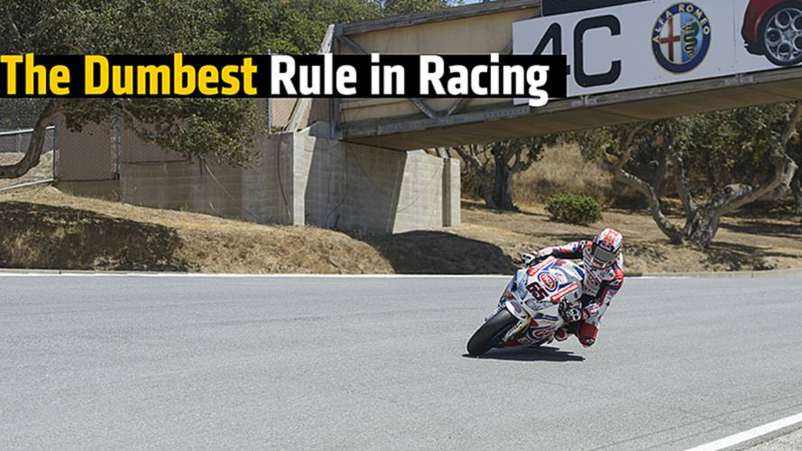 The Dumbest Rule in Racing