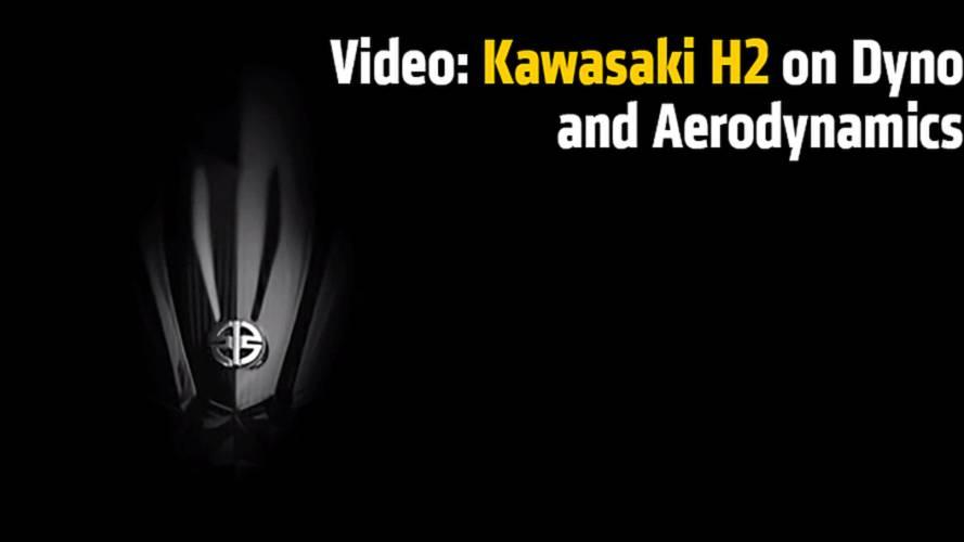 Video: Kawasaki H2 on Dyno and Aerodynamics - Intermot 2014
