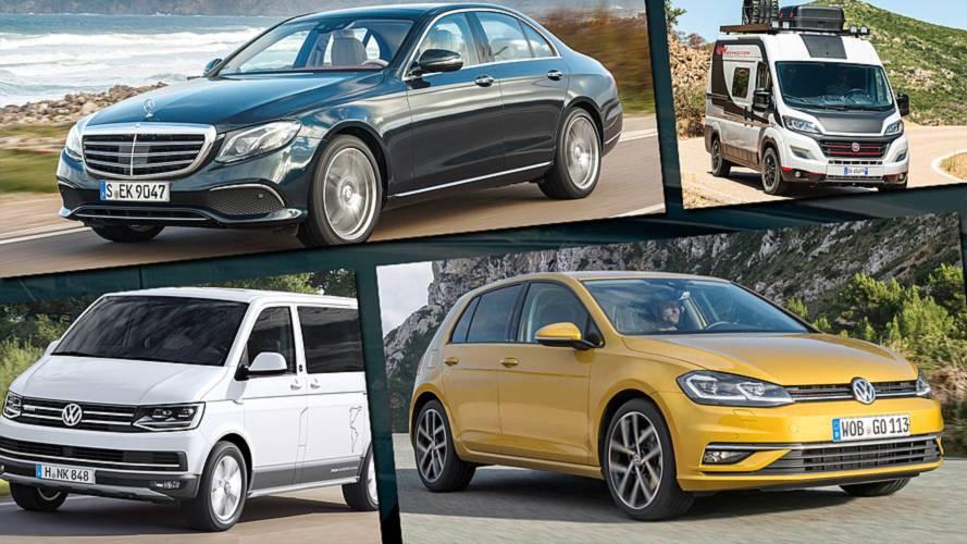 Die beliebtesten Autos jeder Klasse im Jahr 2018