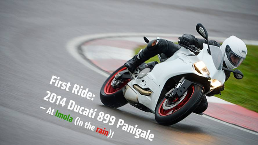 World's First Ride: 2014 Ducati 899 Panigale Review