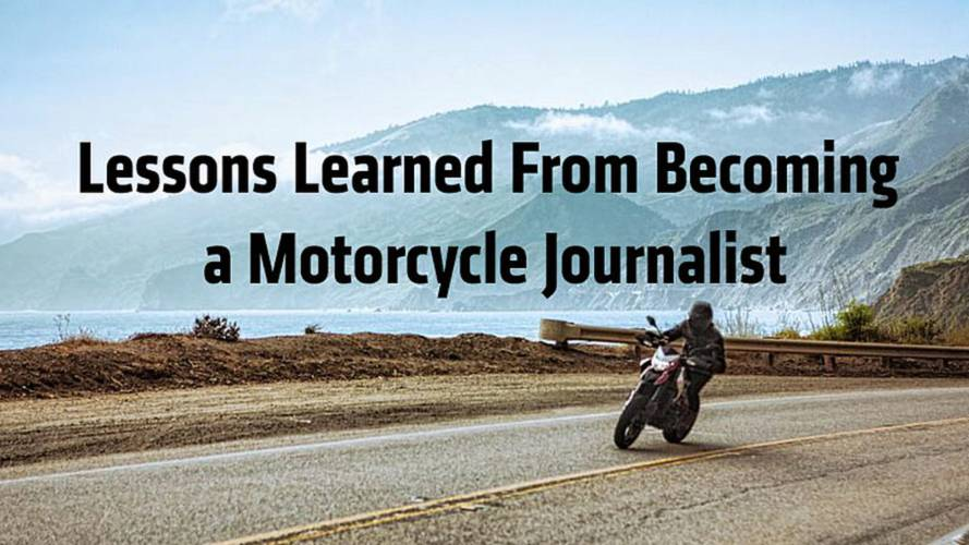 Lessons Learned From Becoming a Motorcycle Journalist