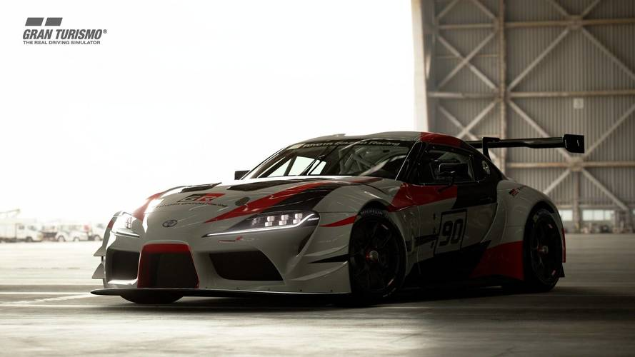Toyota GR Supra Racing Concept Now Playable In Gran Turismo Sport