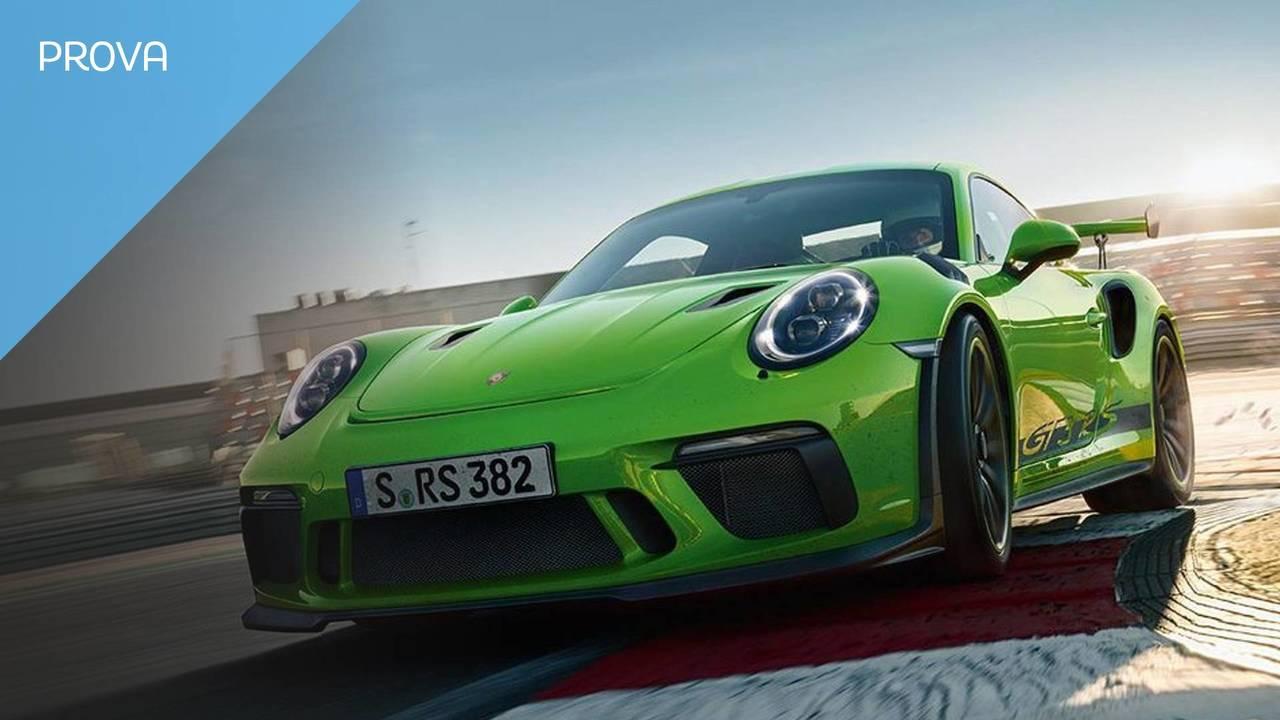 Copertina prova Porsche 911 GT3 RS