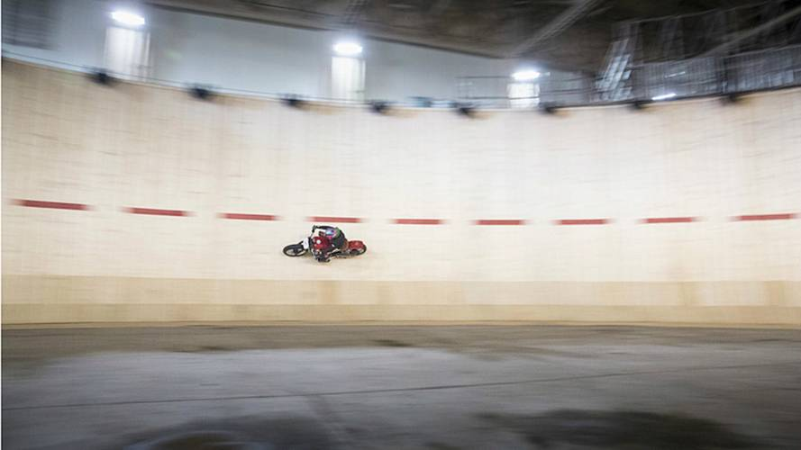 Guy Martin Sets Wall Of Death Speed Record
