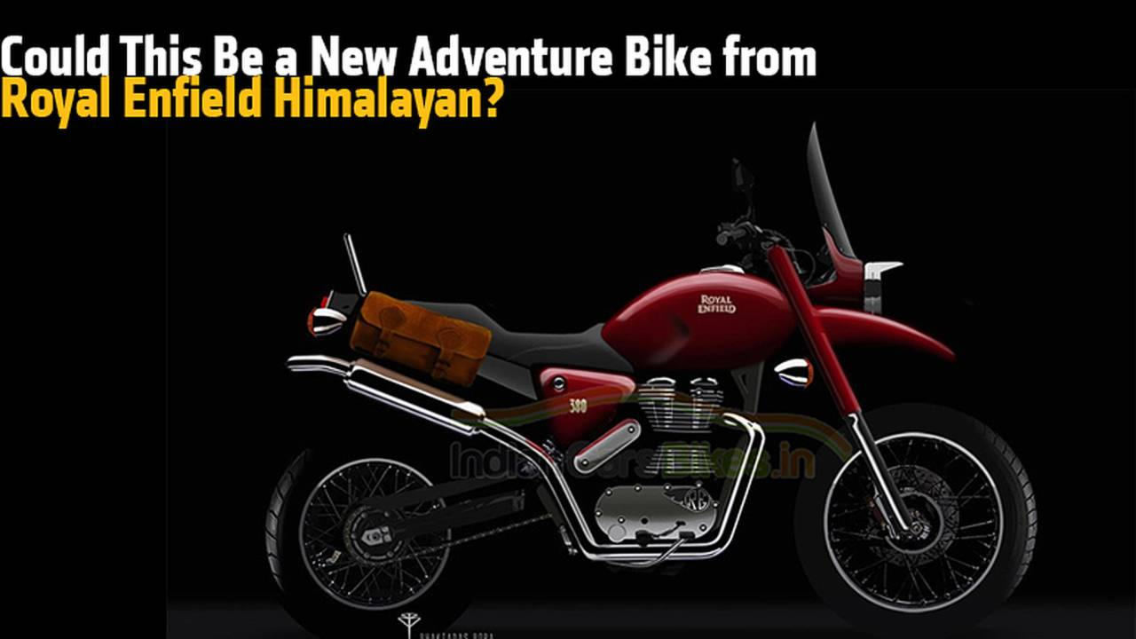 Could This Be the New Adventurer Bike from Royal Enfield Himalayan?