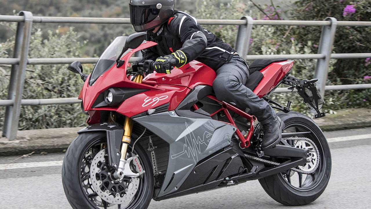 Energica Ego Goes Mad Fast, Sets Record