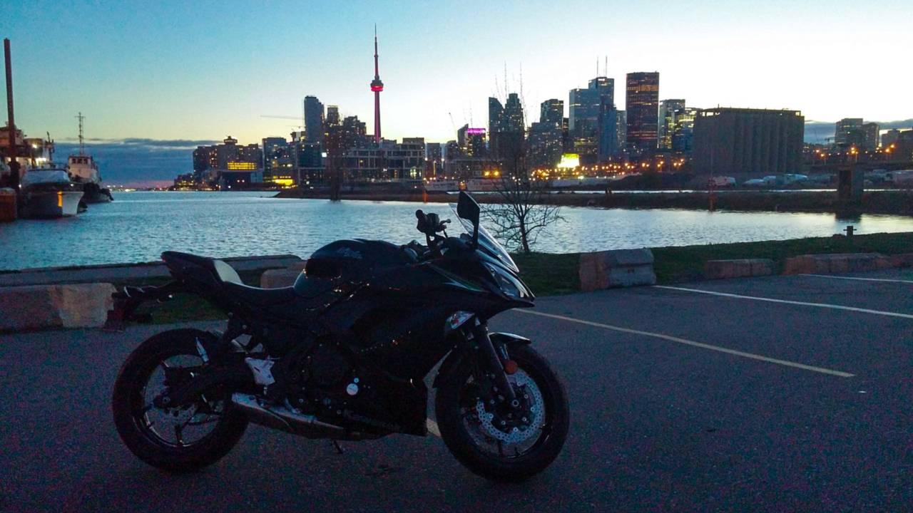 Toronto Explores Making Lane Splitting Legal
