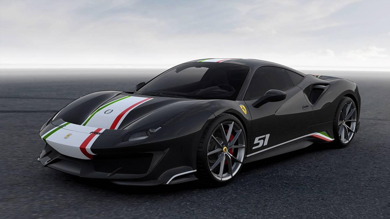 Piloti Ferrari Nero Daytona