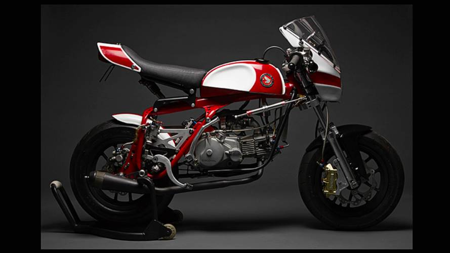 "Bike of the Week: DavMo Moto's ""Magnum 50"" Racer"