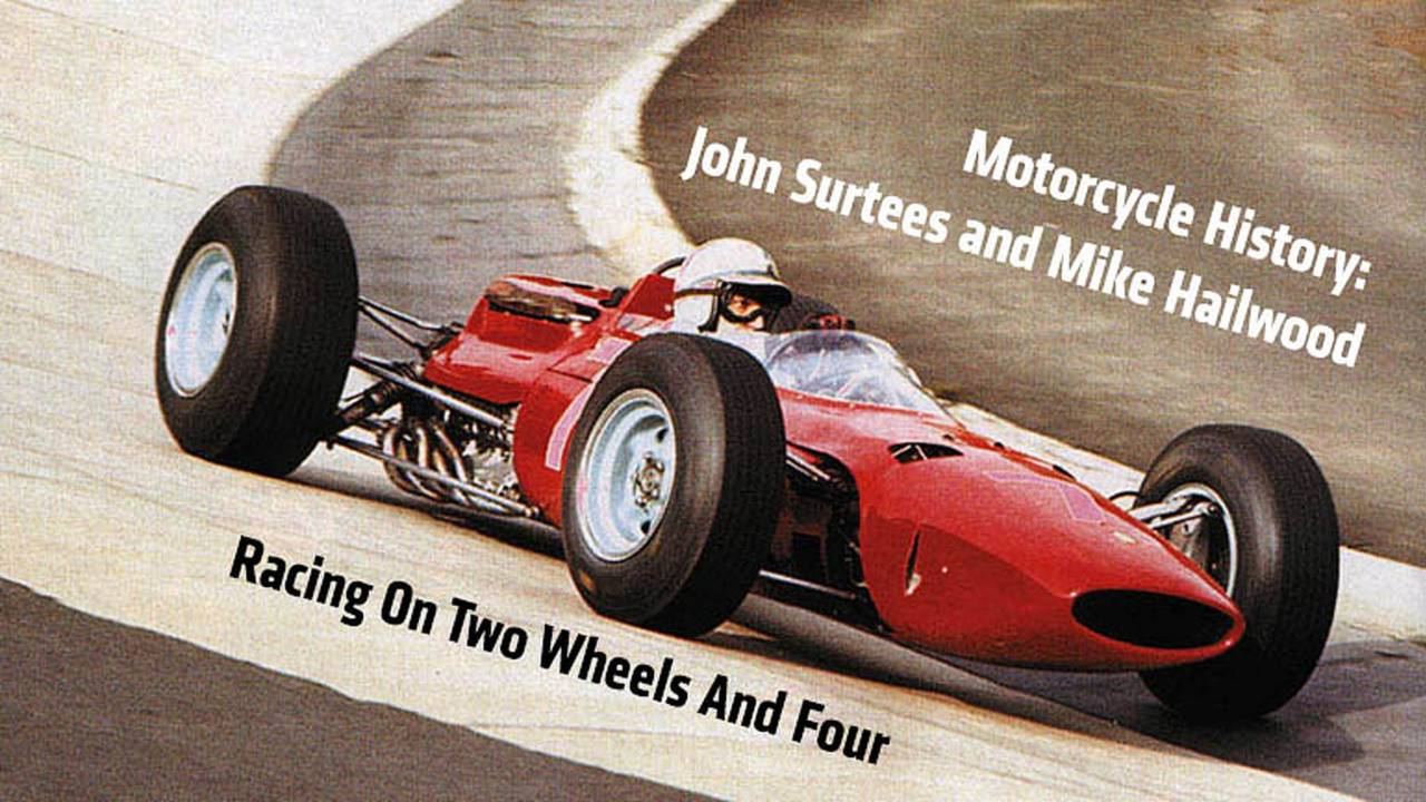 Motorcycle History: John Surtees and Mike Hailwood — Racing On Two Wheels and Four