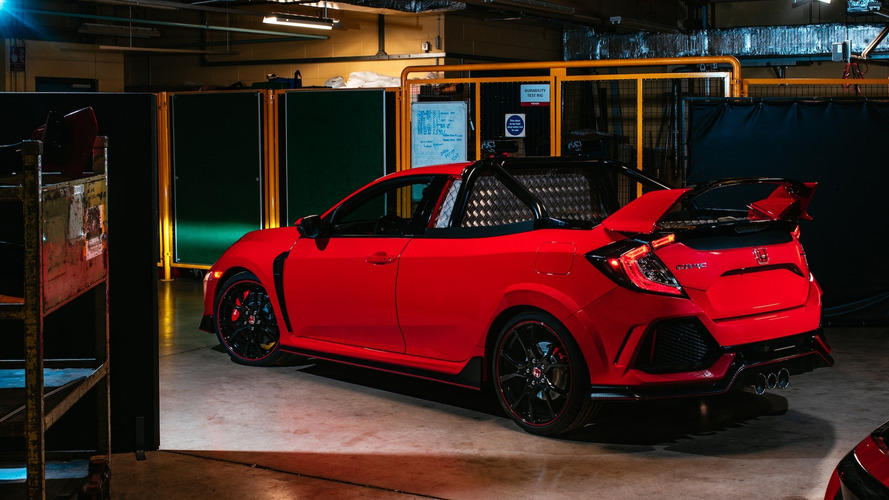 Honda shows off 165mph Civic Type R pickup