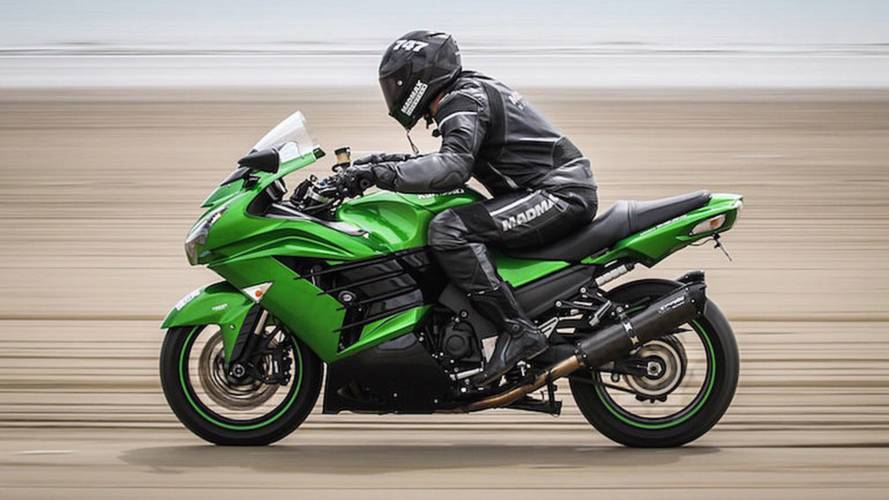 Setting A Motorcycle World Speed Record On Sand