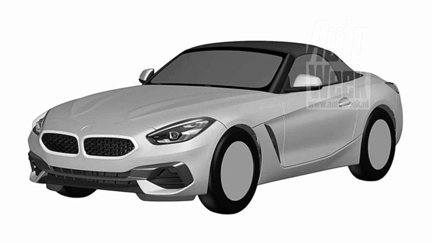 BMW Z4 design registration reveals roadster's ravishing body