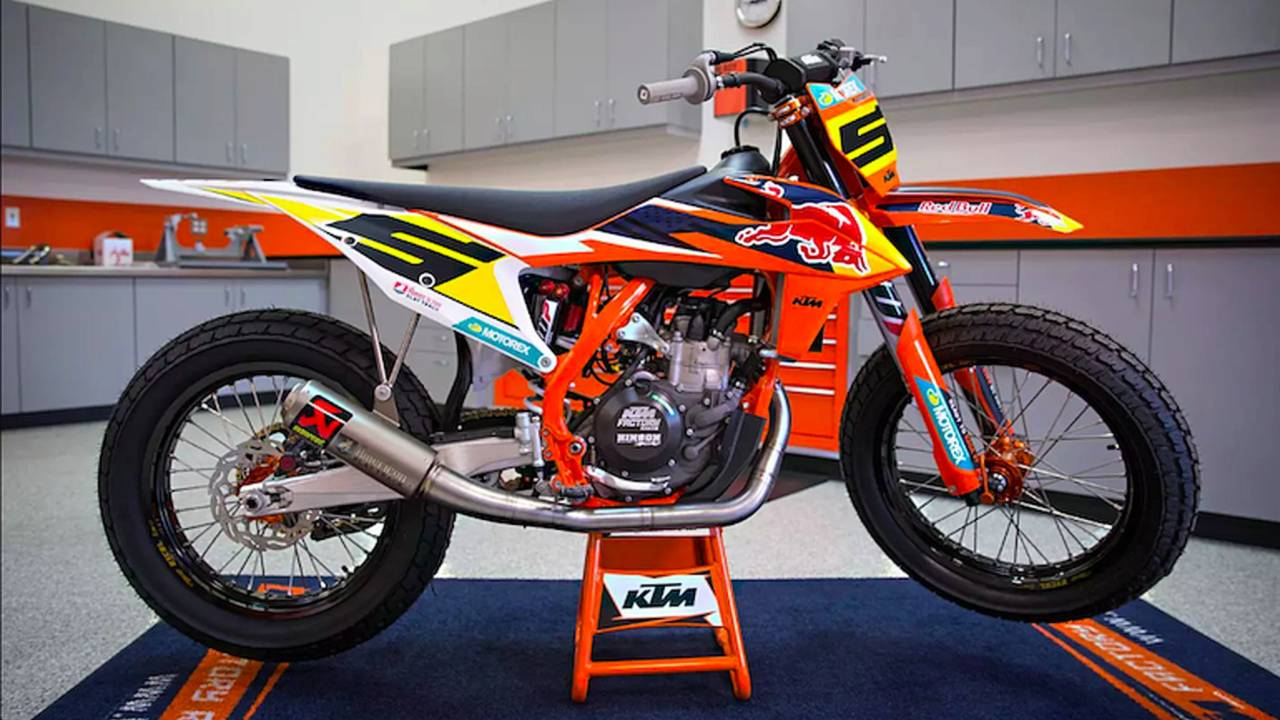 KTM Revs Up for American Flat Track Singles Class