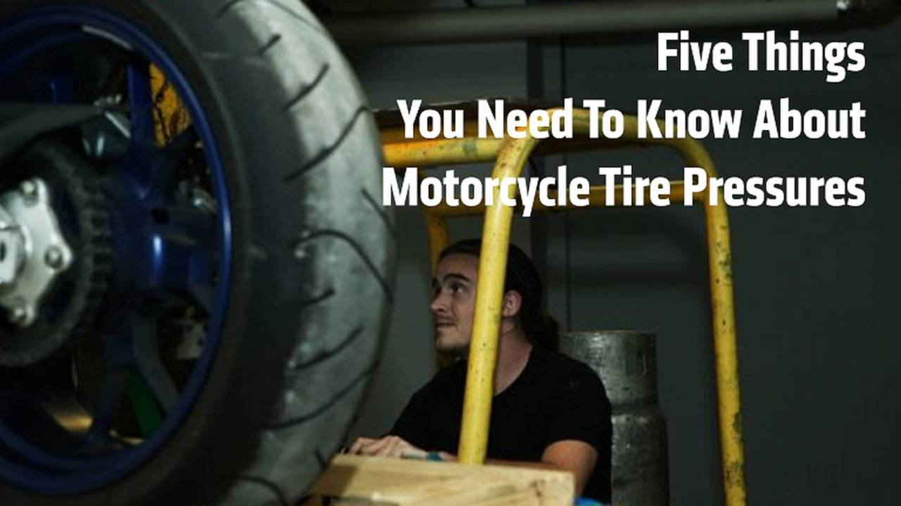 Things You Need To Know About Motorcycle Tire Pressure