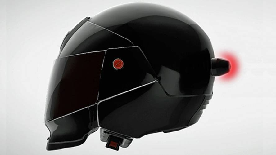 Company Introduces Helmet-Mounted Brake Light