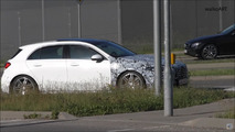 2020 Mercedes-AMG A45 screenshot from spy video