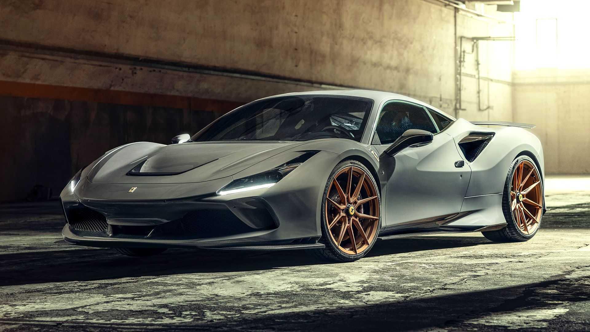 Ferrari F8 Tributo от Novitec: визуальные улучшения и больше мощности