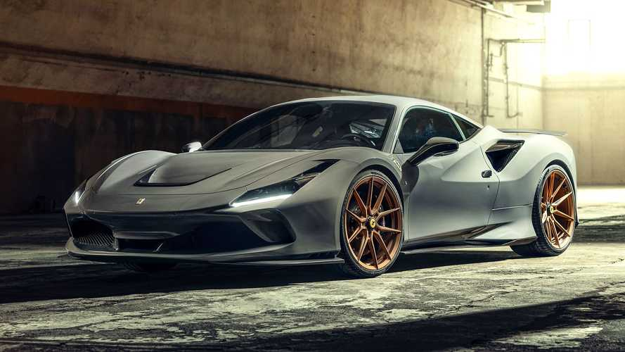 Ferrari F8 Tributo By Novitec Gets Visual Upgrades, More Power
