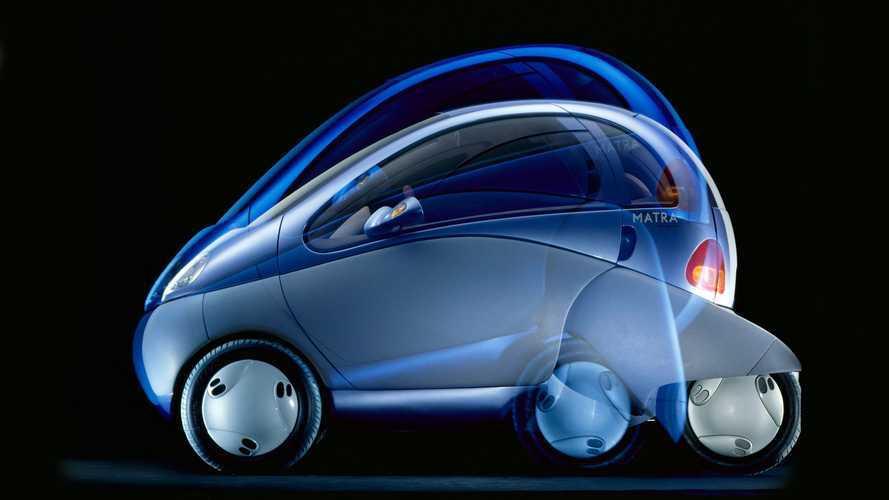 """Concept Renault Zoom, l'elettrica che poteva """"piegarsi"""""""
