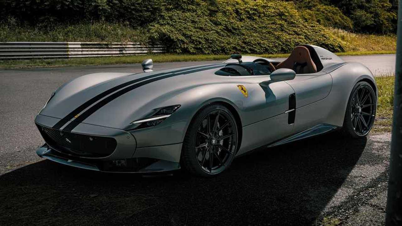 Ferrari Monza SP1 tuning by Novitec