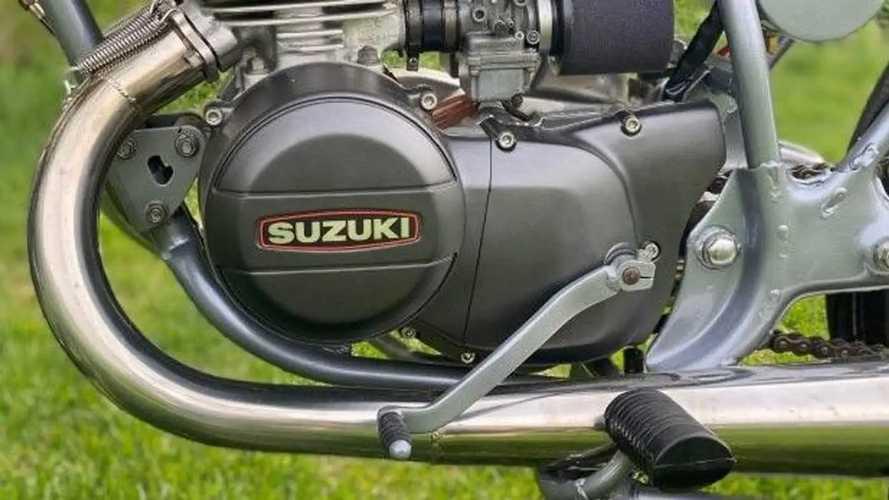 1974 Suzuki GT185 Adventurer Café Racer