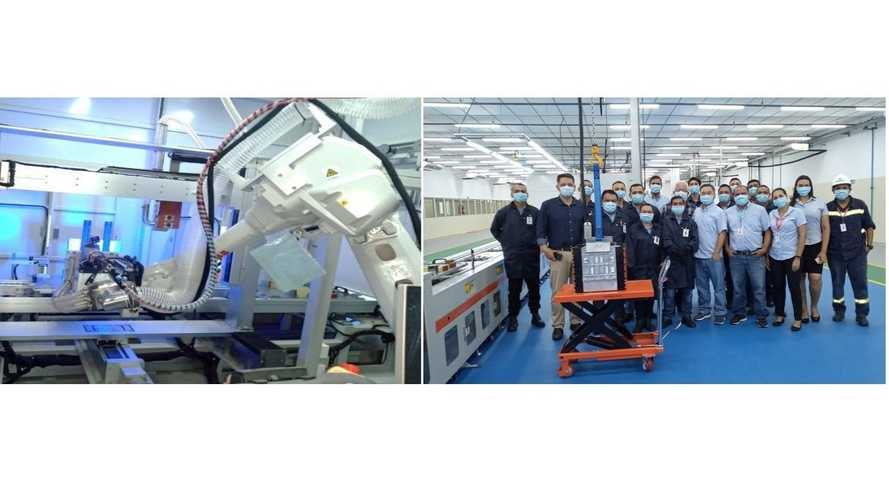 BYD Launches Battery Production Plant In Brazil