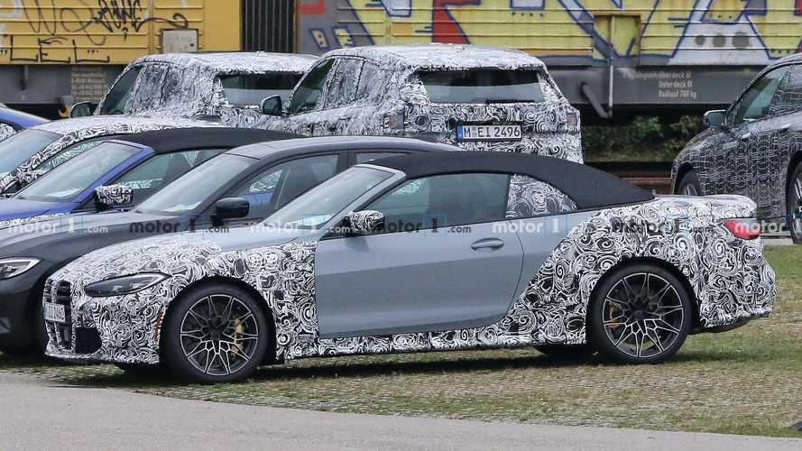 BMW M4 Convertible Spied After Being Invisible For A Long Time