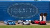 fabbrica blu bugatti 30 anni festa