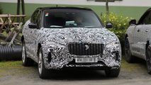 Jaguar F-Pace facelift new spy potos