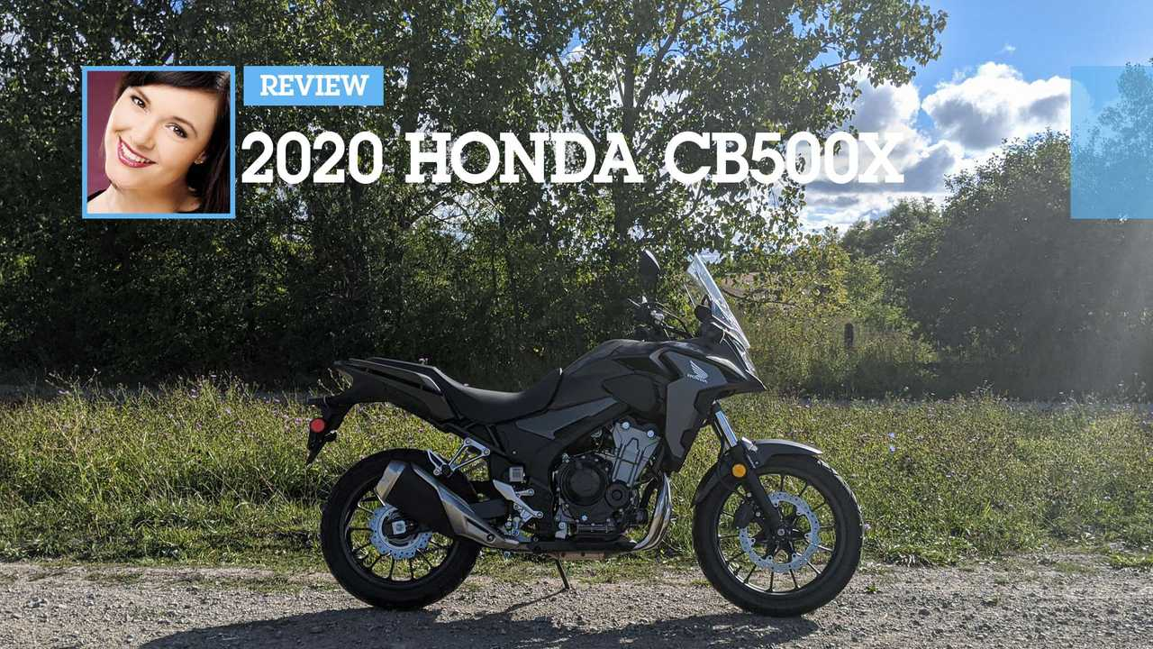 2020 Honda CB500X Review Main