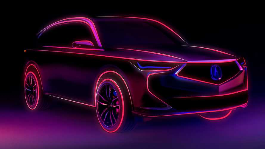 Fourth-Gen Acura MDX Teased Ahead Of October 14 Debut