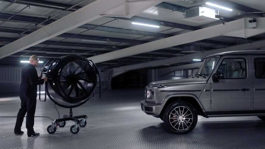 Mercedes figured the G-Class needed an advert, and it's hilarious
