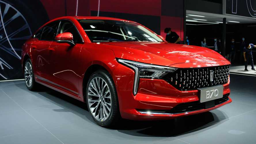 China's New Bestune B70 Copies Cadillac CT5 Design